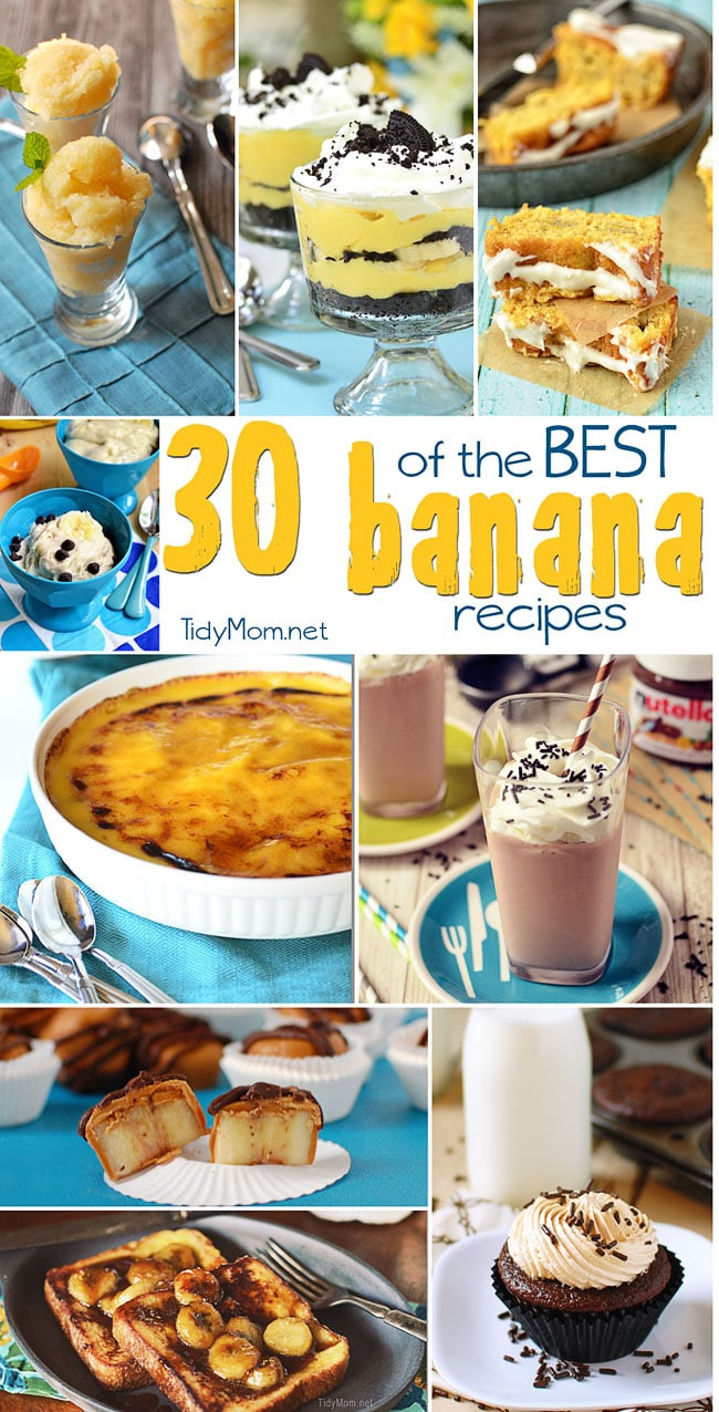 Recipes For Ripe Bananas Other Than Banana Bread  banana recipes