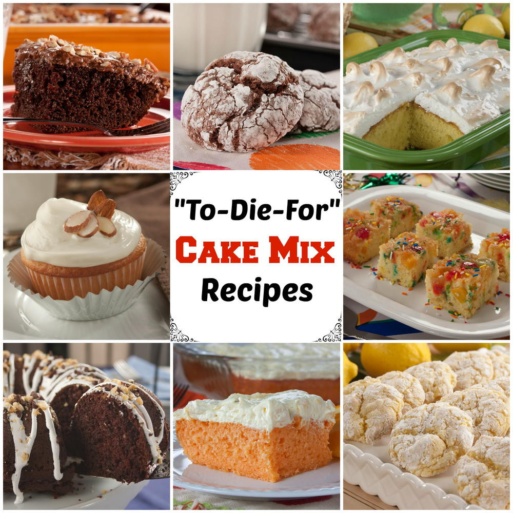 Recipes Using Cake Mix  33 To Die For Recipes with Cake Mix