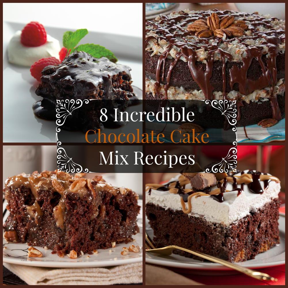 Recipes Using Cake Mix  8 Incredible Chocolate Cake Mix Recipes