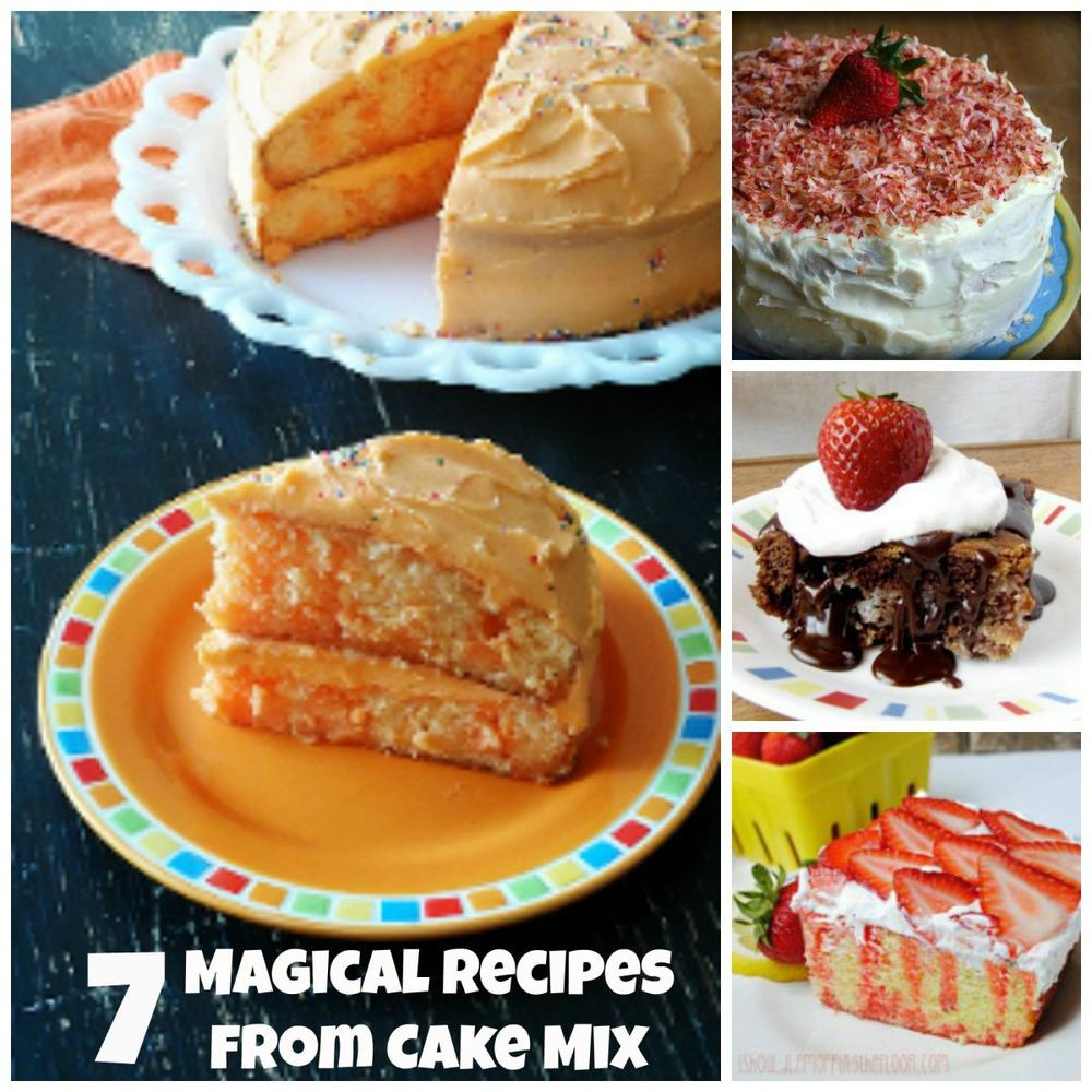 Recipes Using Cake Mix  7 Magical Recipes From Cake Mix