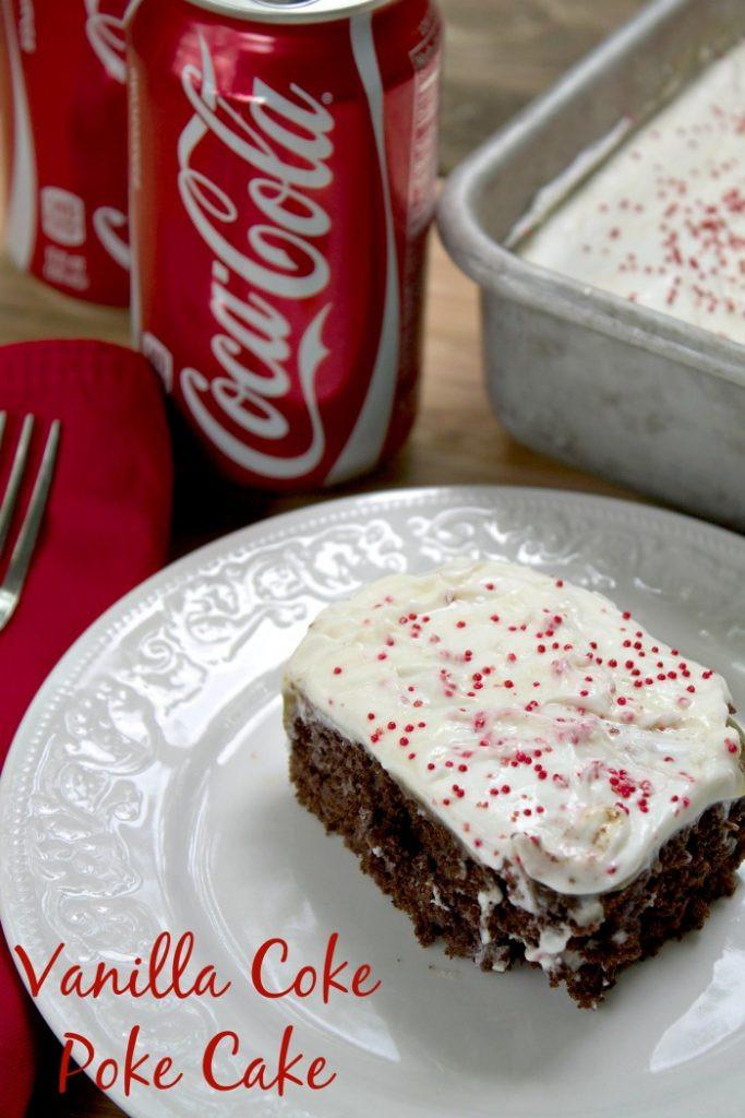 Recipes Using Cake Mix  Vanilla Coke Poke Cake Recipe Using Cake Mix and Coke