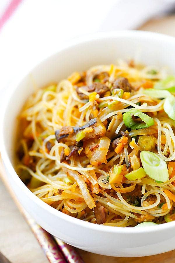 Recipes With Rice Noodles  Pumpkin Rice Noodles