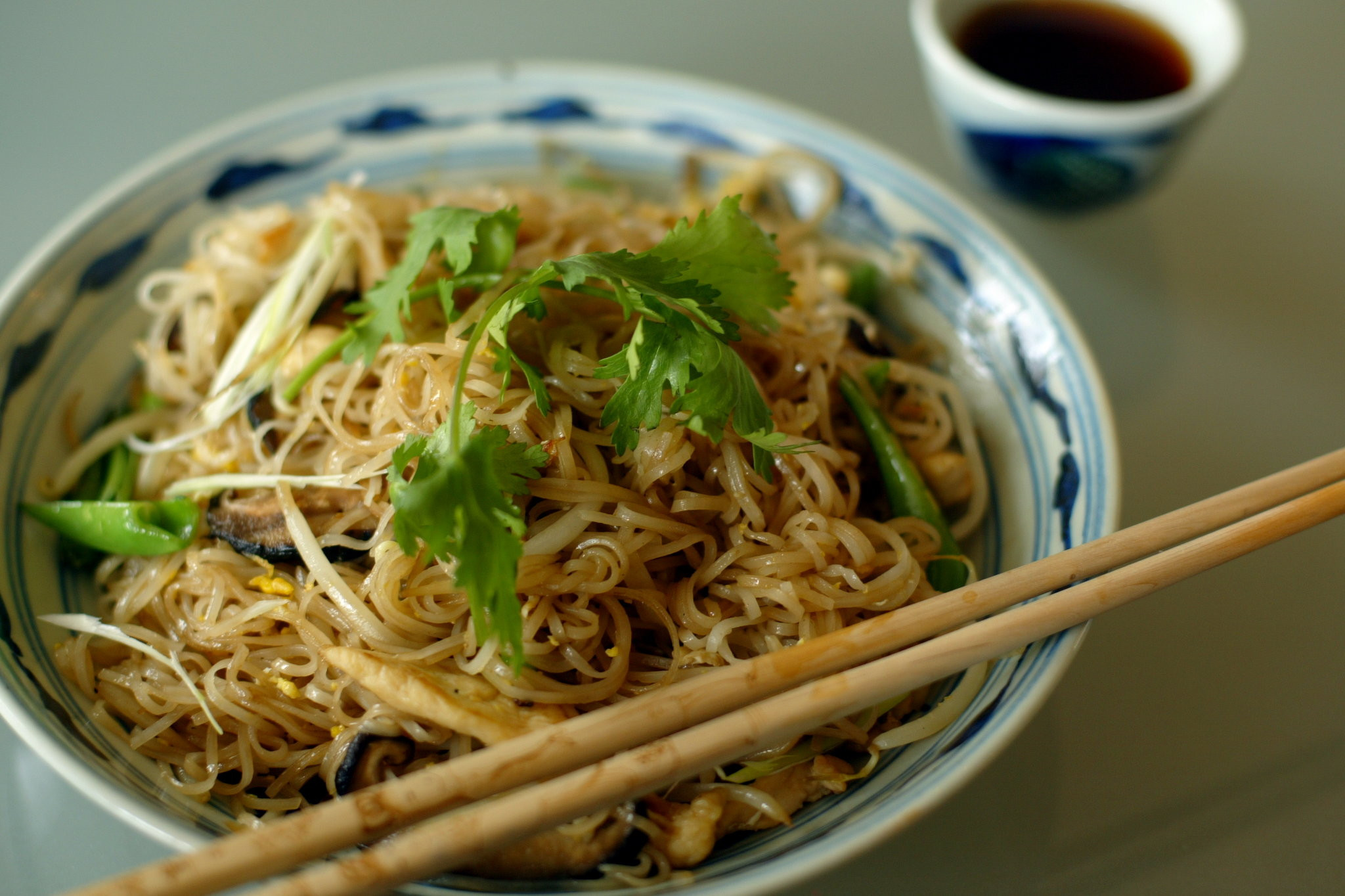 Recipes With Rice Noodles  Rice Noodles With Chicken Recipe NYT Cooking