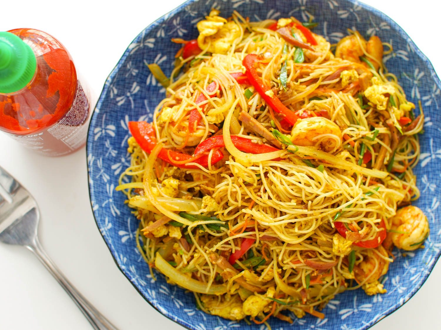 Recipes With Rice Noodles  Singapore Rice Noodles Recipe