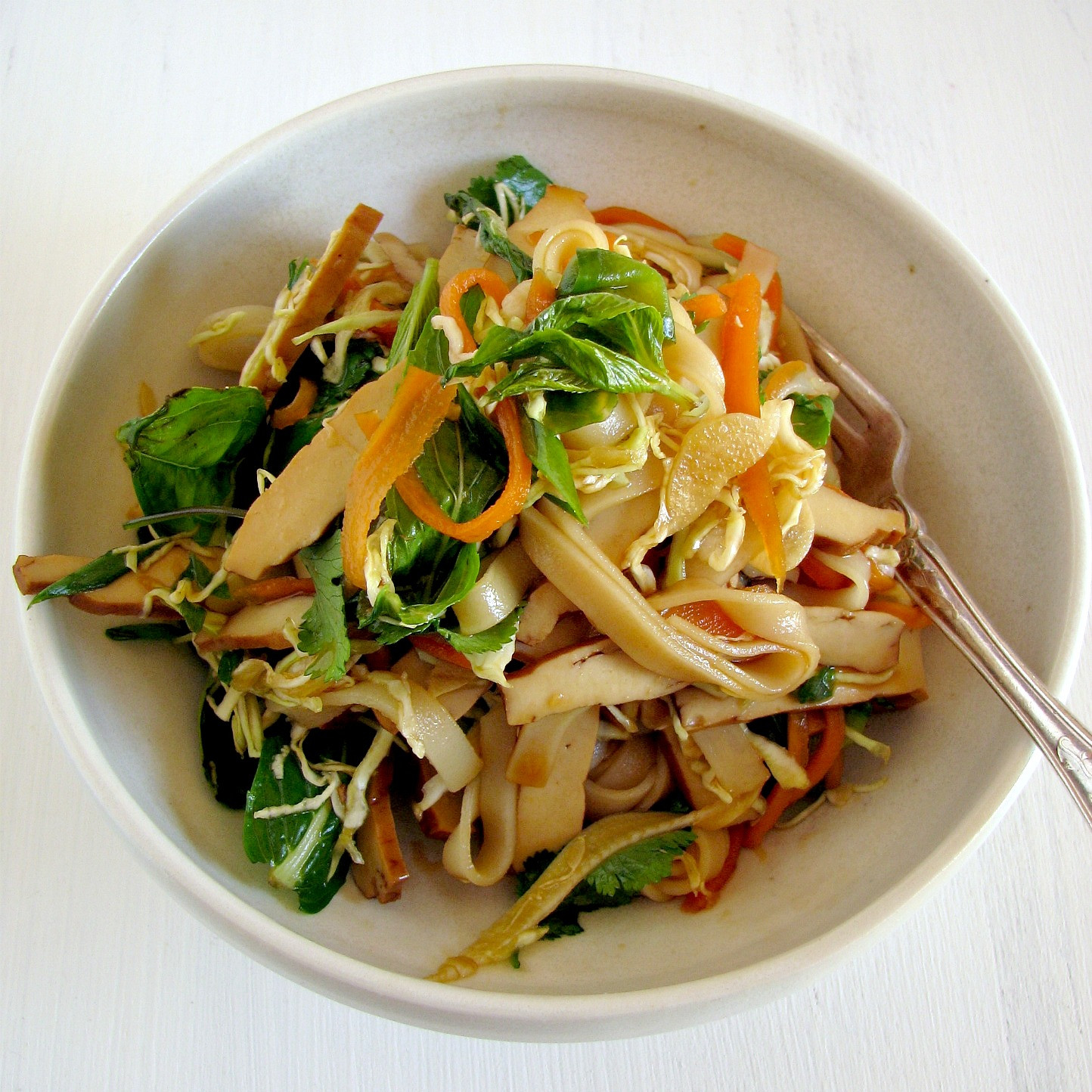 Recipes With Rice Noodles  tofu herb & rice noodle salad recipe – My Darling Lemon Thyme
