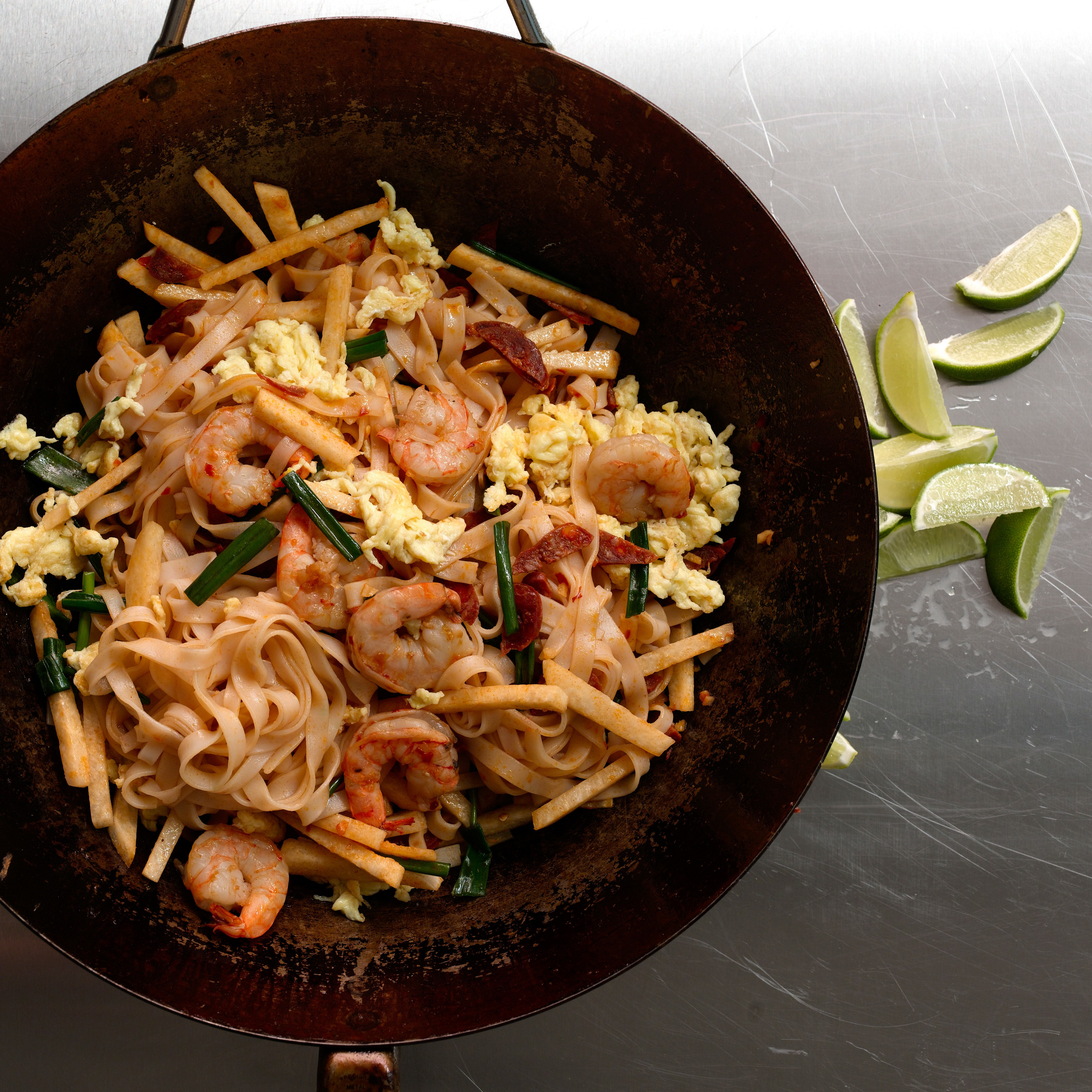 Recipes With Rice Noodles  Penang Fried Rice Noodles recipe