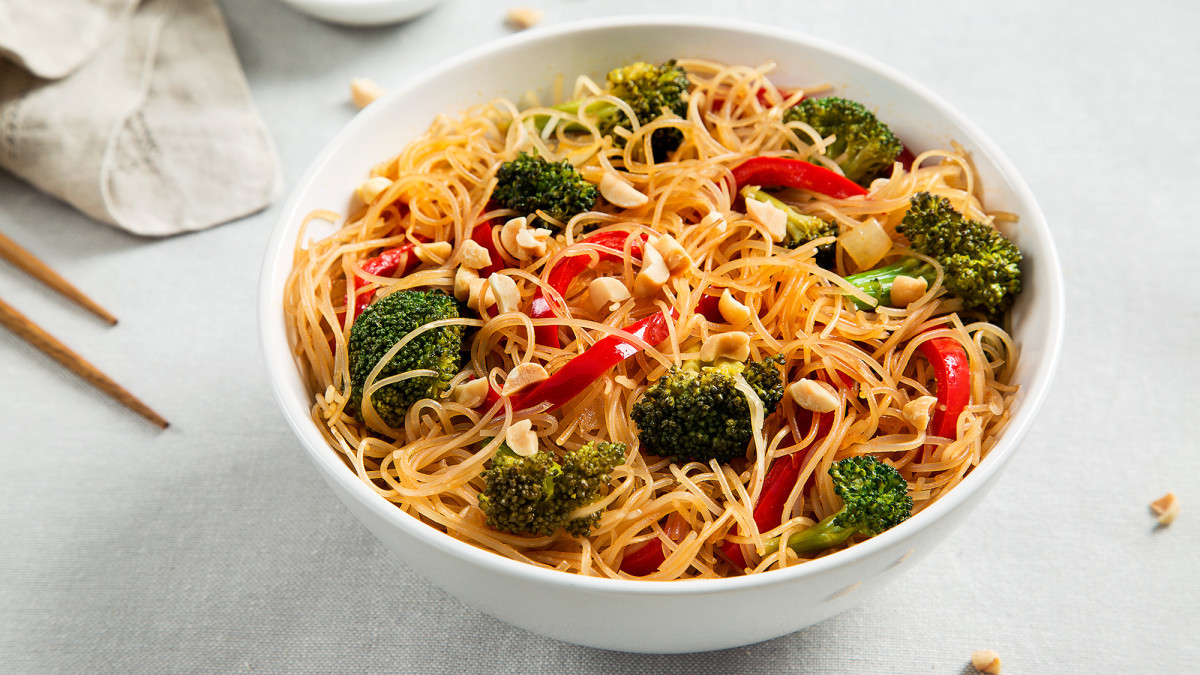 Recipes With Rice Noodles  rice noodle ingre nts