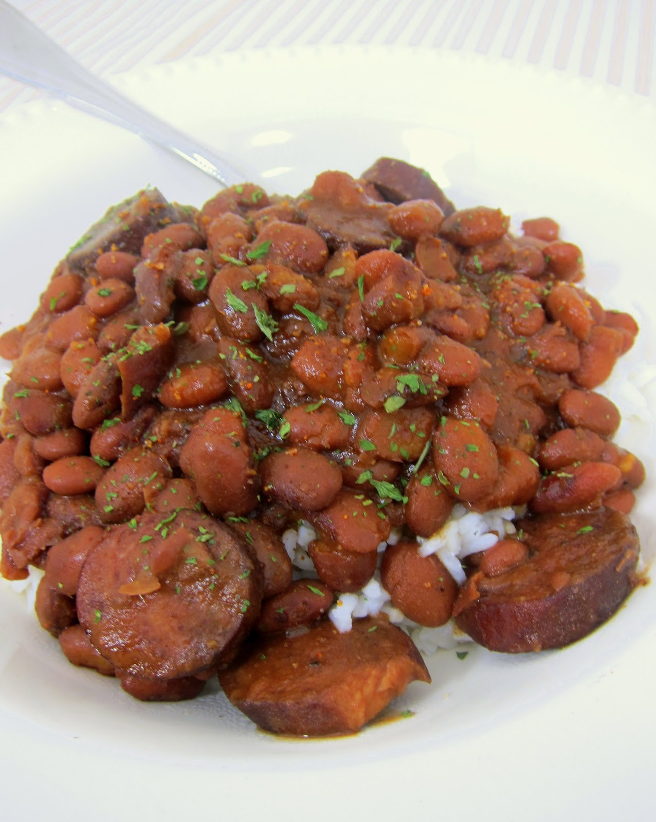 Red Beans And Rice Slow Cooker  Slow Cooker Red Beans & Rice