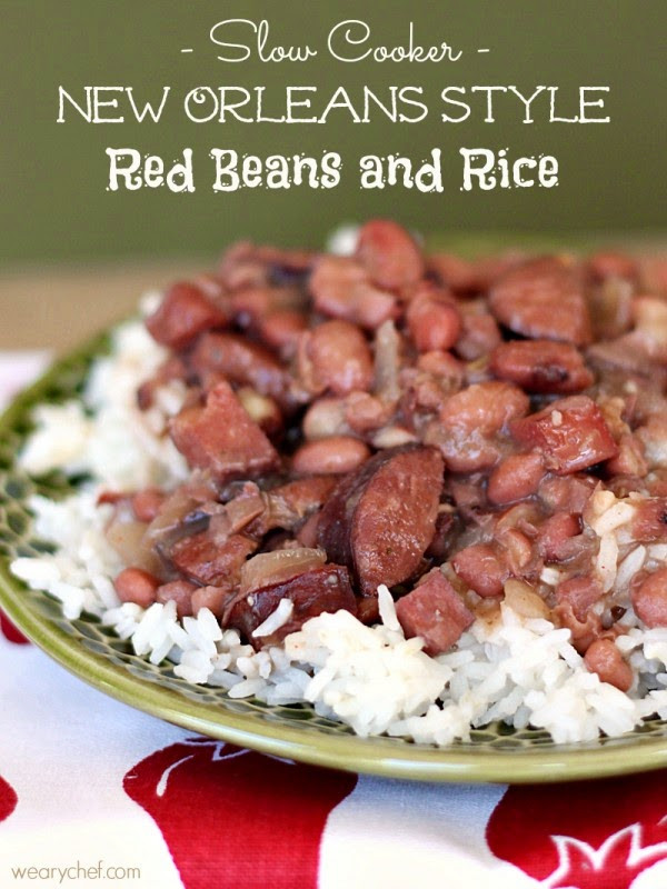 Red Beans And Rice Slow Cooker  The BEST Slow Cooker New Orleans Red Beans and Rice