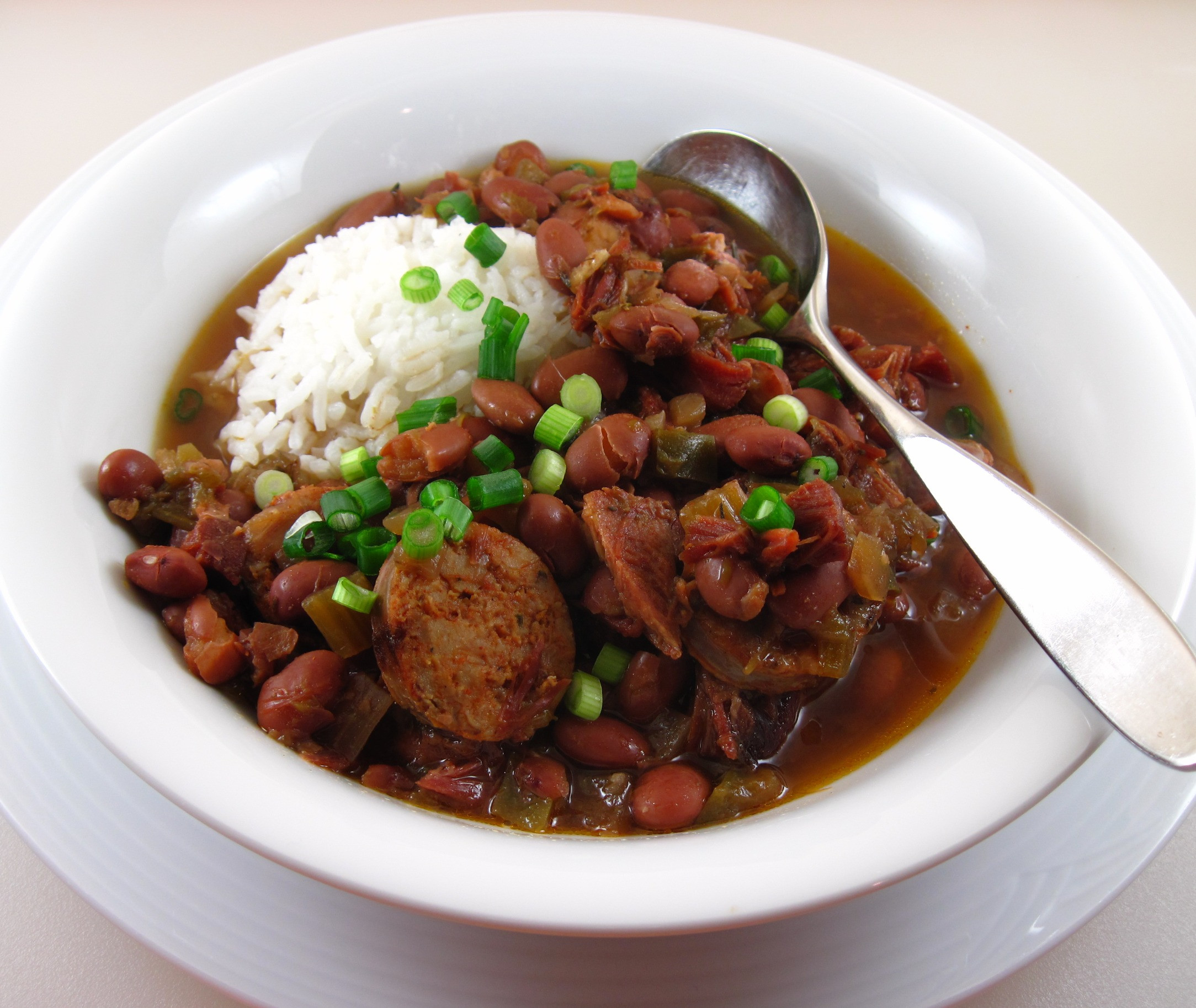 Red Beans And Rice Slow Cooker  Slow Cooker Red Beans and Rice