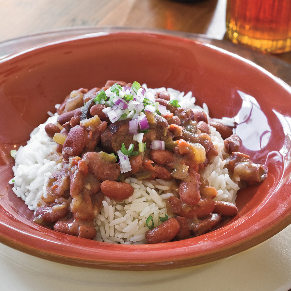 Red Beans And Rice Slow Cooker  Slow Cooker Red Beans and Rice Recipe