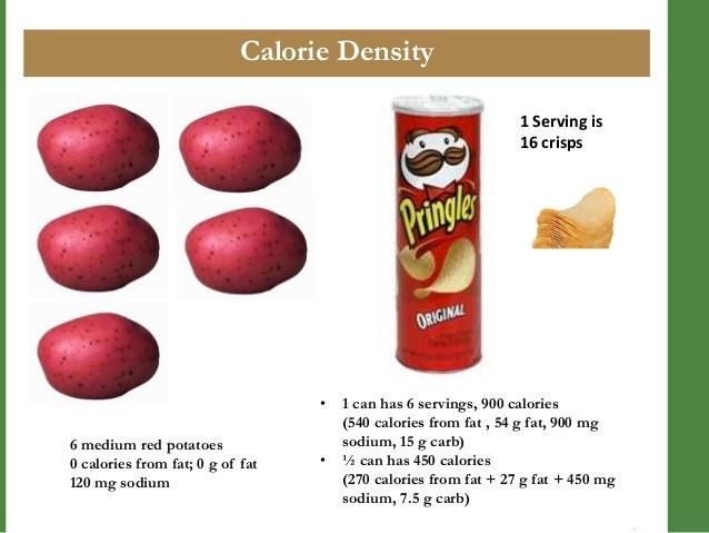 Red Potato Nutrition  Calorie Density HEAL Workshop Session 2