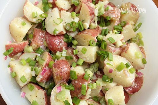 Red Potato Salad Recipes  Baby Red Potato Salad