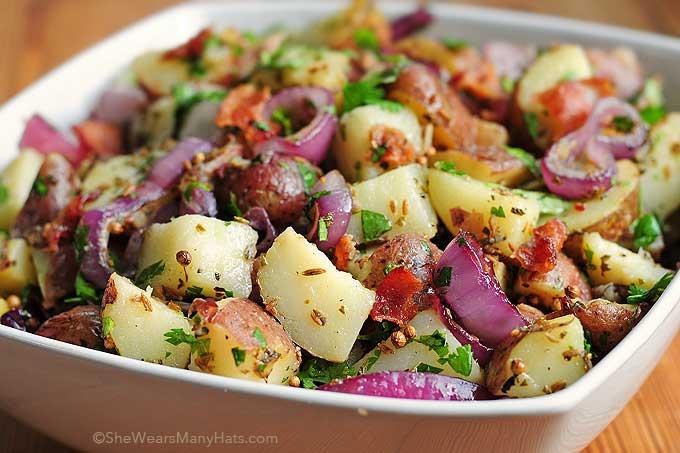 Red Potato Salad Recipes  Texas Style New Potato Salad Recipe