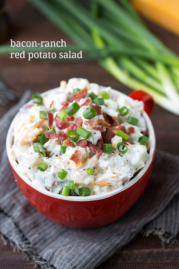Red Potato Salad Recipes  easy red potato salad