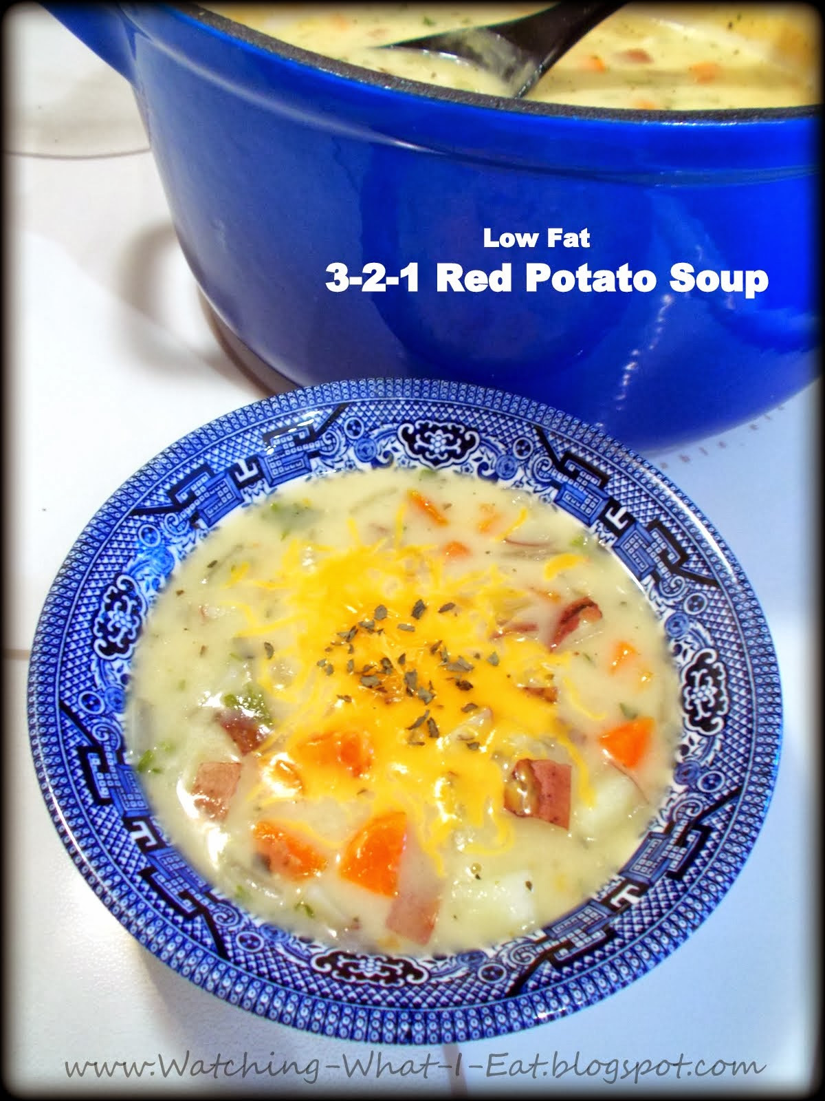 Red Potato Soup  Watching What I Eat 3 2 1 Red Potato Soup low fat