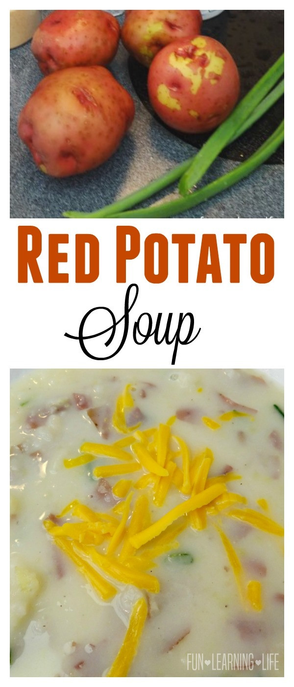 Red Potato Soup  Red Potato Soup Recipe An Easy Side or Hearty Dinner Idea