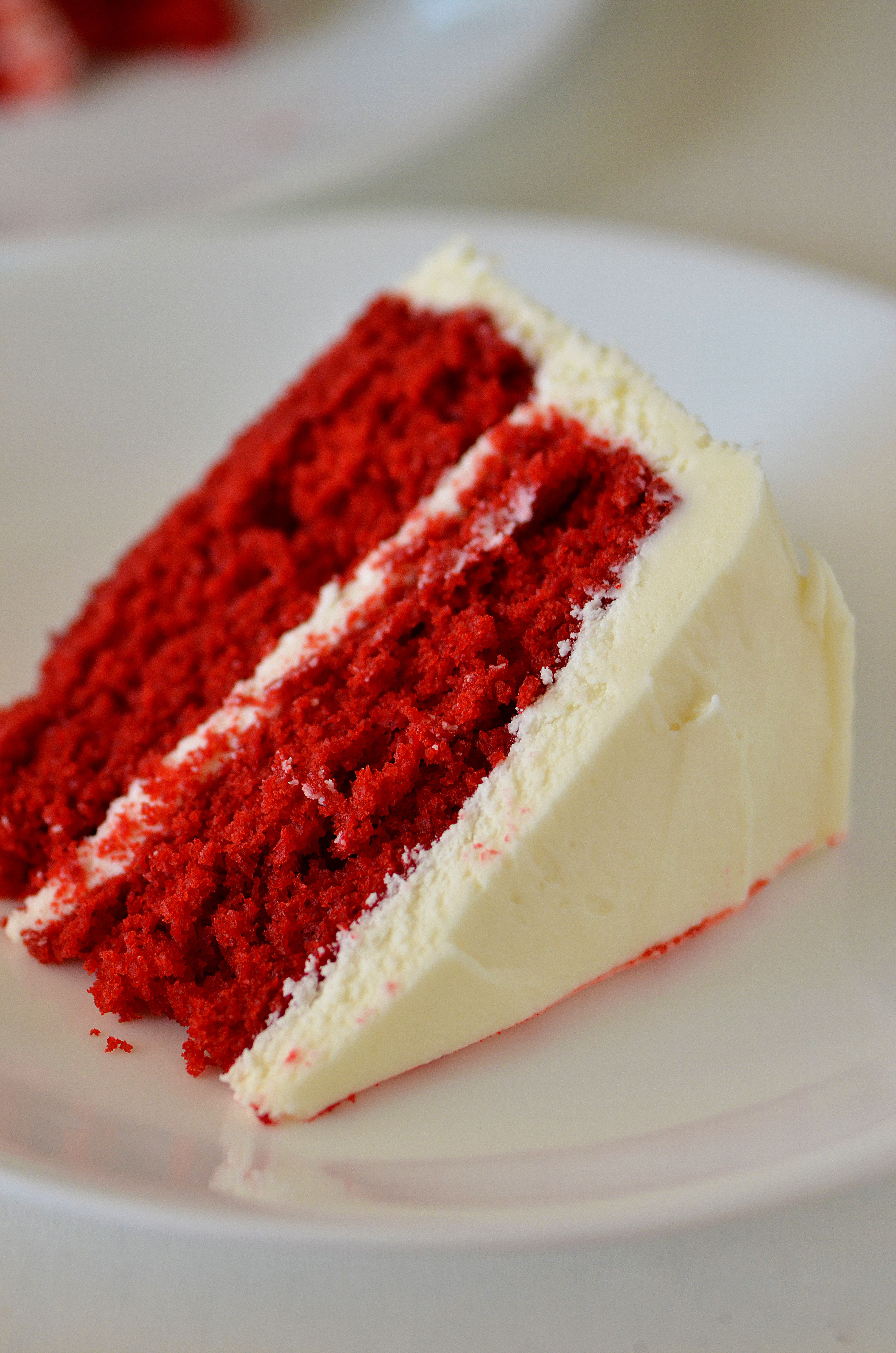 Red Velvet Cake Icing  Red Velvet Cake with Cream Cheese Frosting Life In The