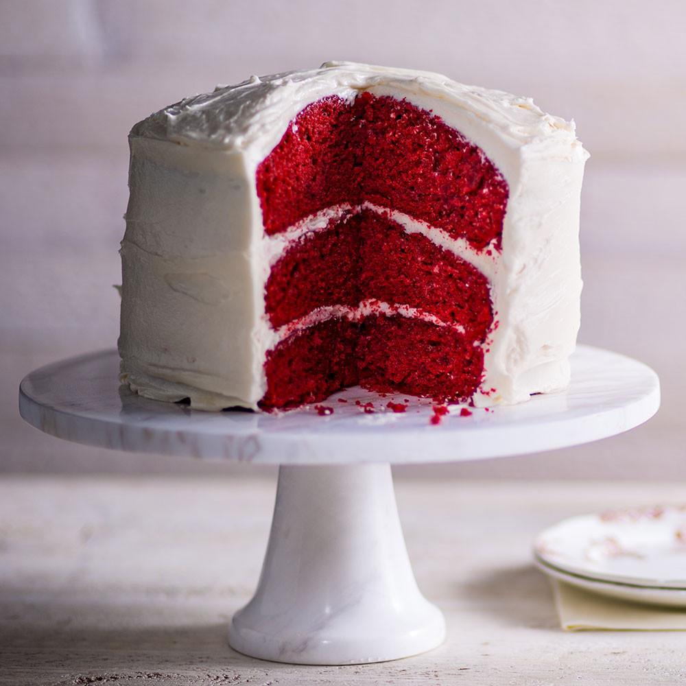 Red Velvet Cake Icing  Red Velvet Cake with Cream Cheese Frosting