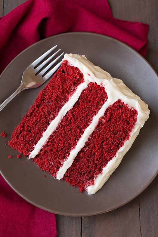 Red Velvet Cake Icing  Red Velvet Cake with Cream Cheese Frosting Cooking Classy