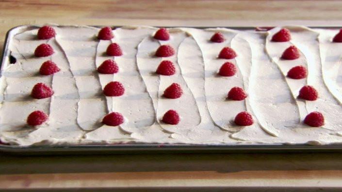 Red Velvet Sheet Cake  Red Velvet Sheet Cake with Classic Red Velvet Frosting