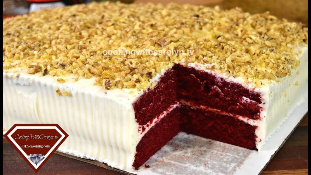 Red Velvet Sheet Cake  MY 1st RED VELVET SHEET CAKE