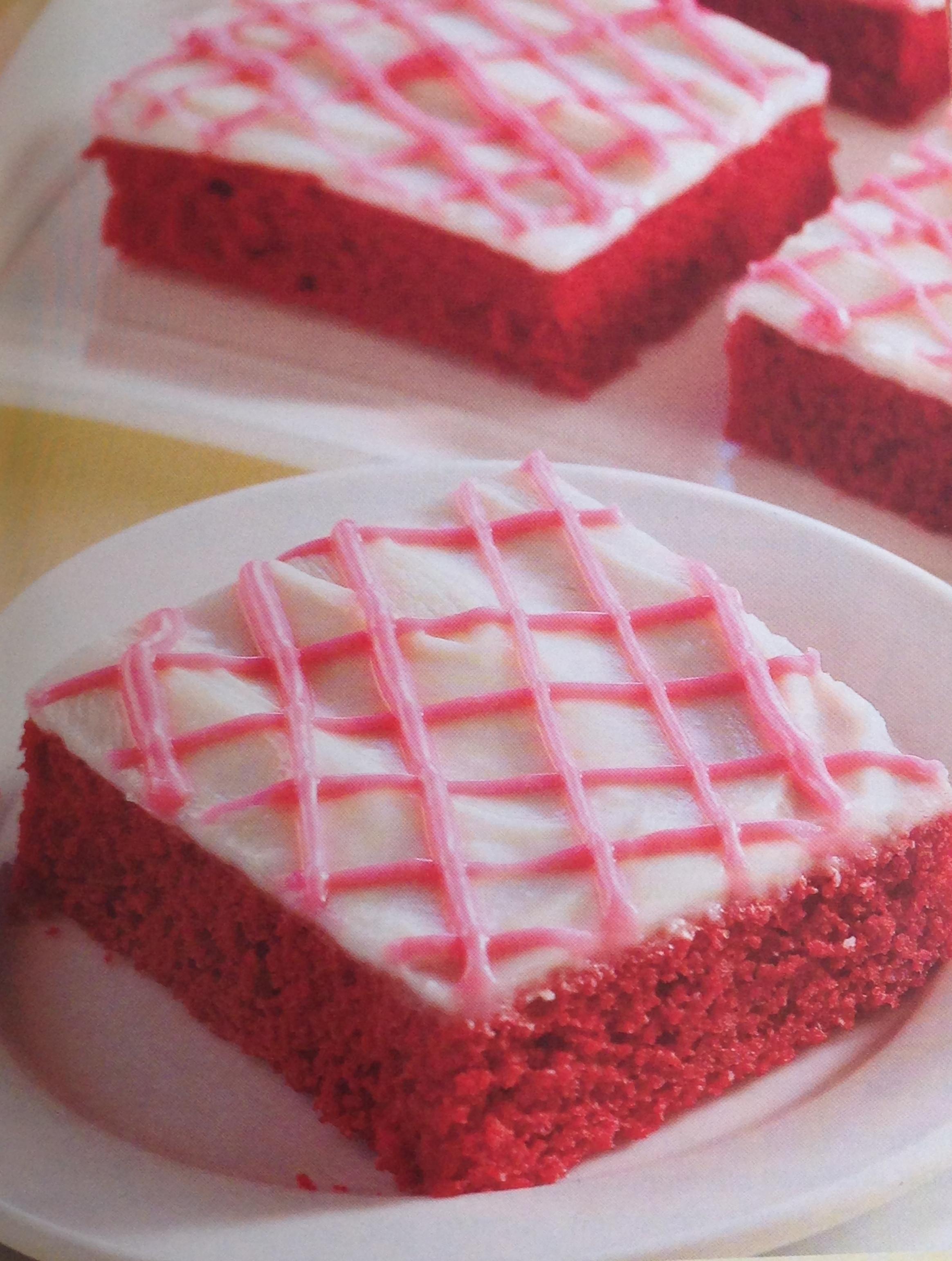 Red Velvet Sheet Cake  Healthy Living Red Velvet Sheet Cake