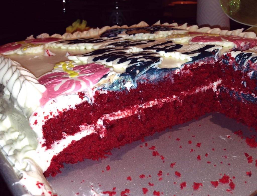 Red Velvet Sheet Cake  How to Make a Red Velvet Sheet Cake Disney Lilo