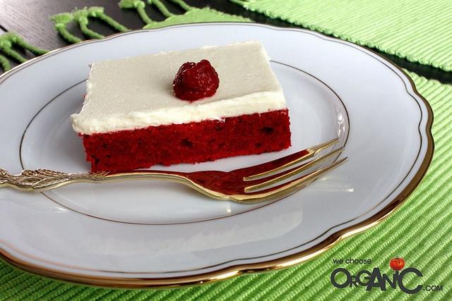Red Velvet Sheet Cake  Red Velvet Sheet Cake With Nutella Fudge Icing Recipe