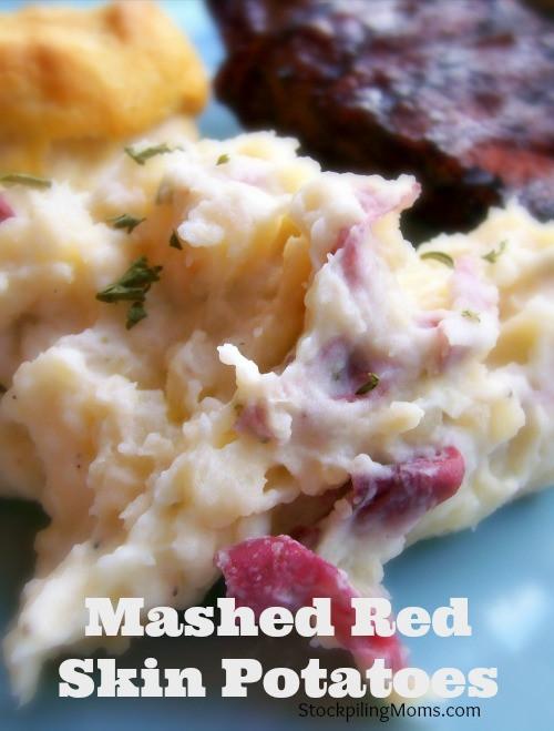 Redskin Mashed Potatoes  Mashed Red Skin Potatoes