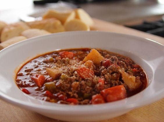 Ree Drummond Beef Stew  Hamburger Soup Recipe