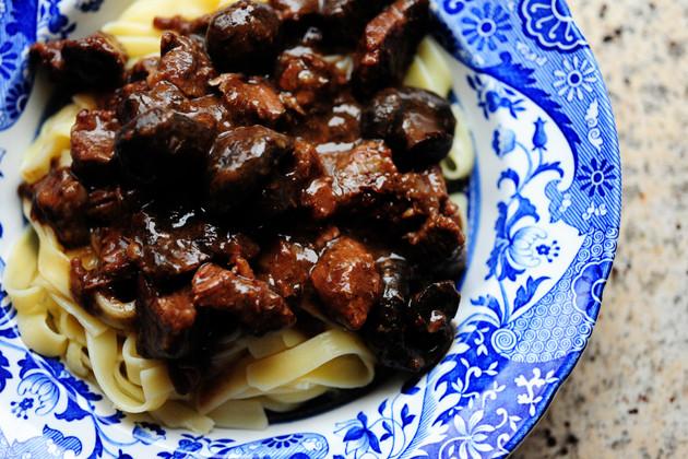 Ree Drummond Beef Stew  Beef Stew with Mushrooms