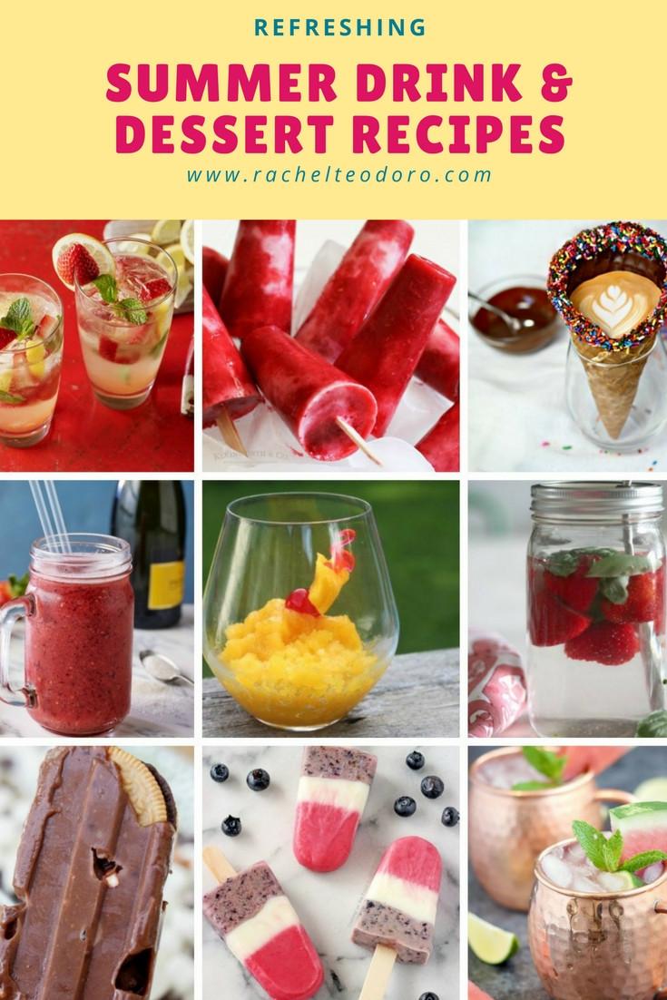 Refreshing Summer Desserts  Refreshing Summer Drink and Dessert Recipes Plus Create