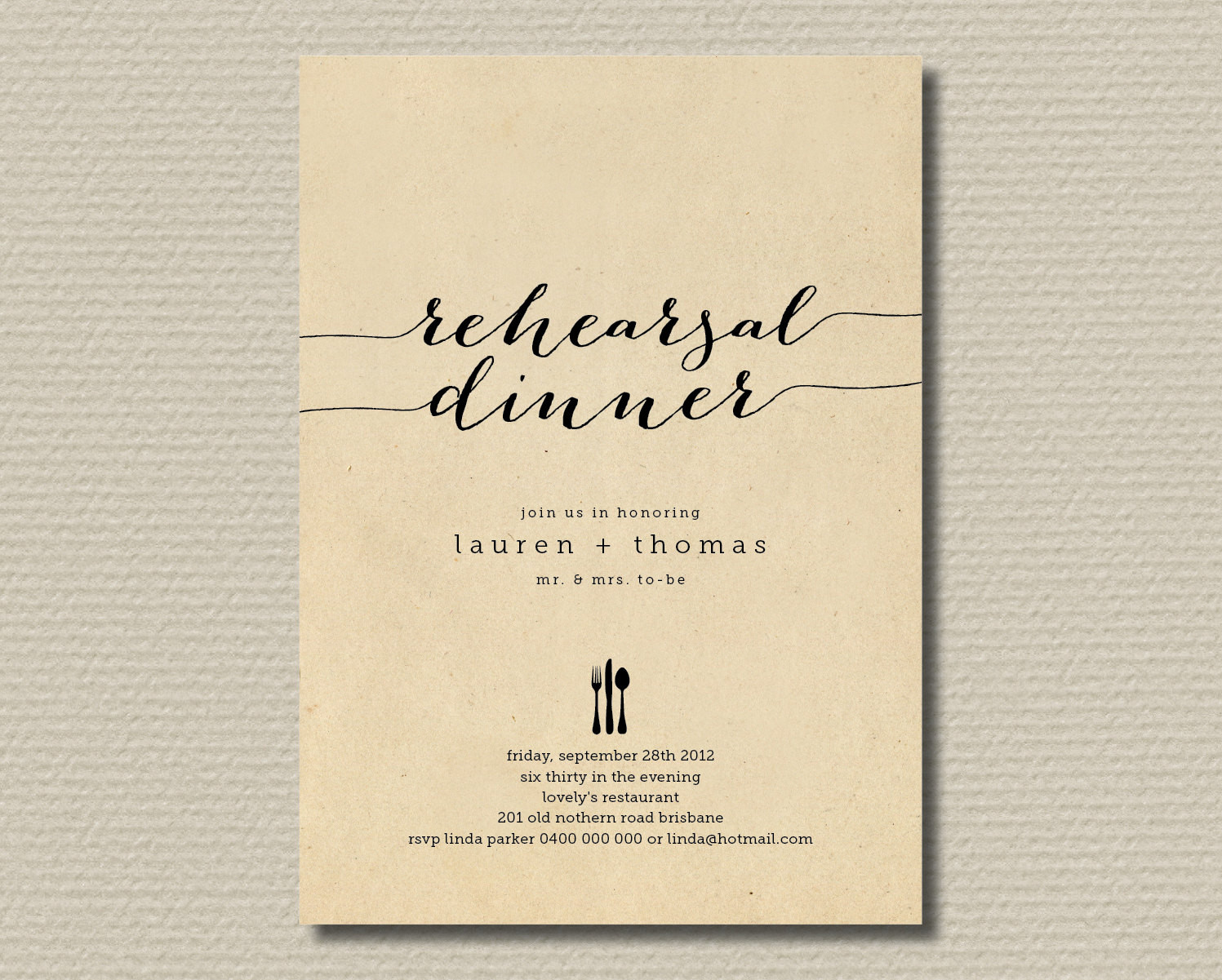 Rehearsal Dinner Invites  10 Affordable Places to Find Rehearsal Dinner Invitations