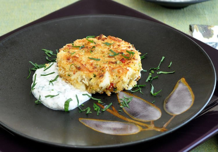 Remoulade Sauce For Crab Cakes  Crab Cakes with Spicy Yogurt Remoulade — Former Chef