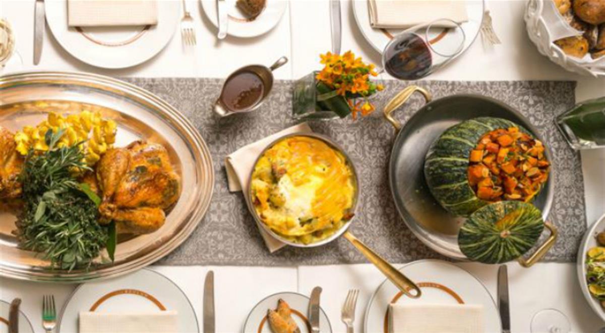 Restaurants Serving Thanksgiving Dinner  Michelin Restaurants Serving 2016 Thanksgiving Dinner