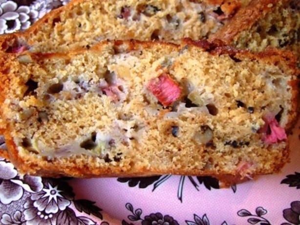 Rhubarb Bread Recipes  Rhubarb Nut Bread Recipe Food