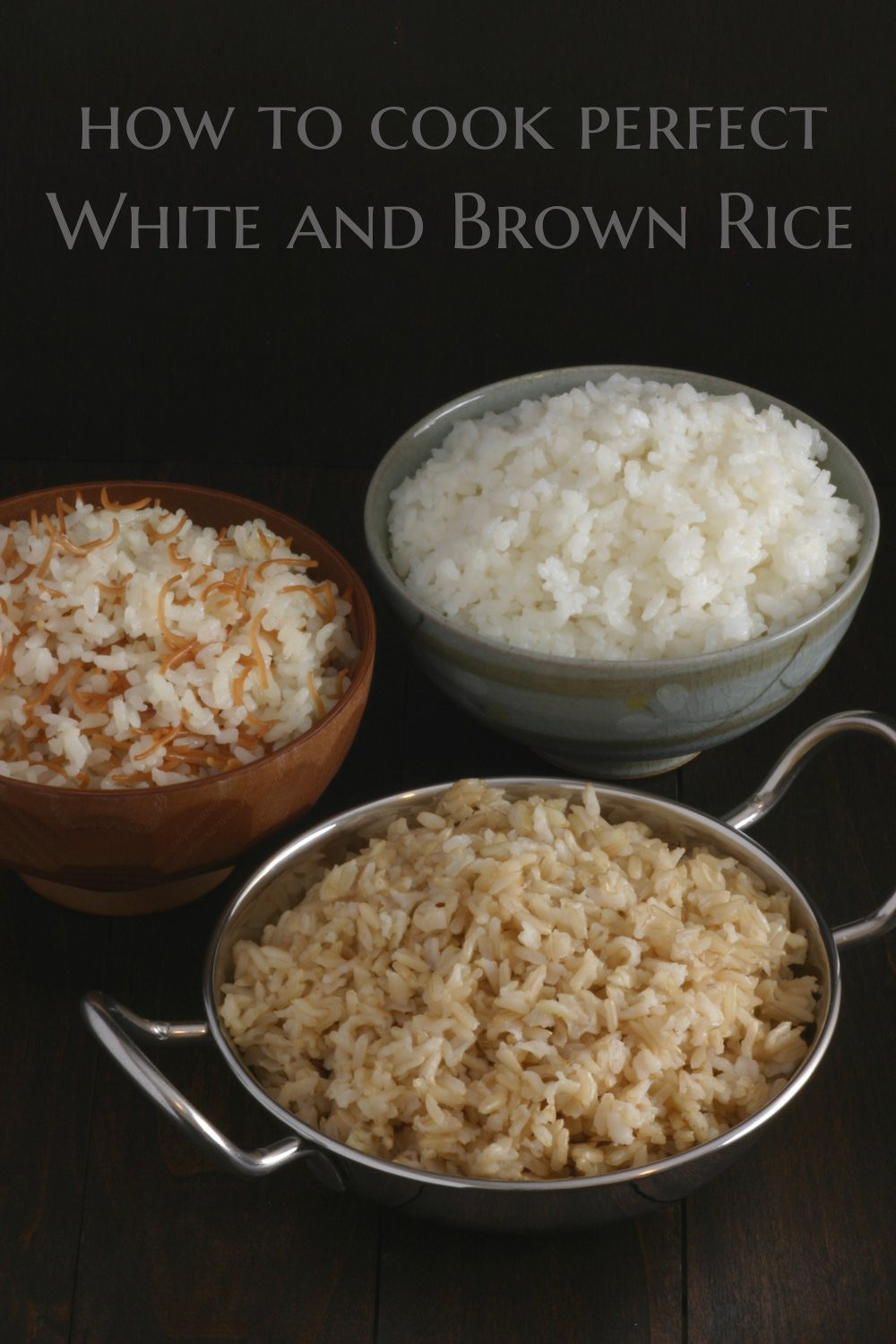 Rice Cooker Brown Rice  add flavor to brown rice in rice cooker