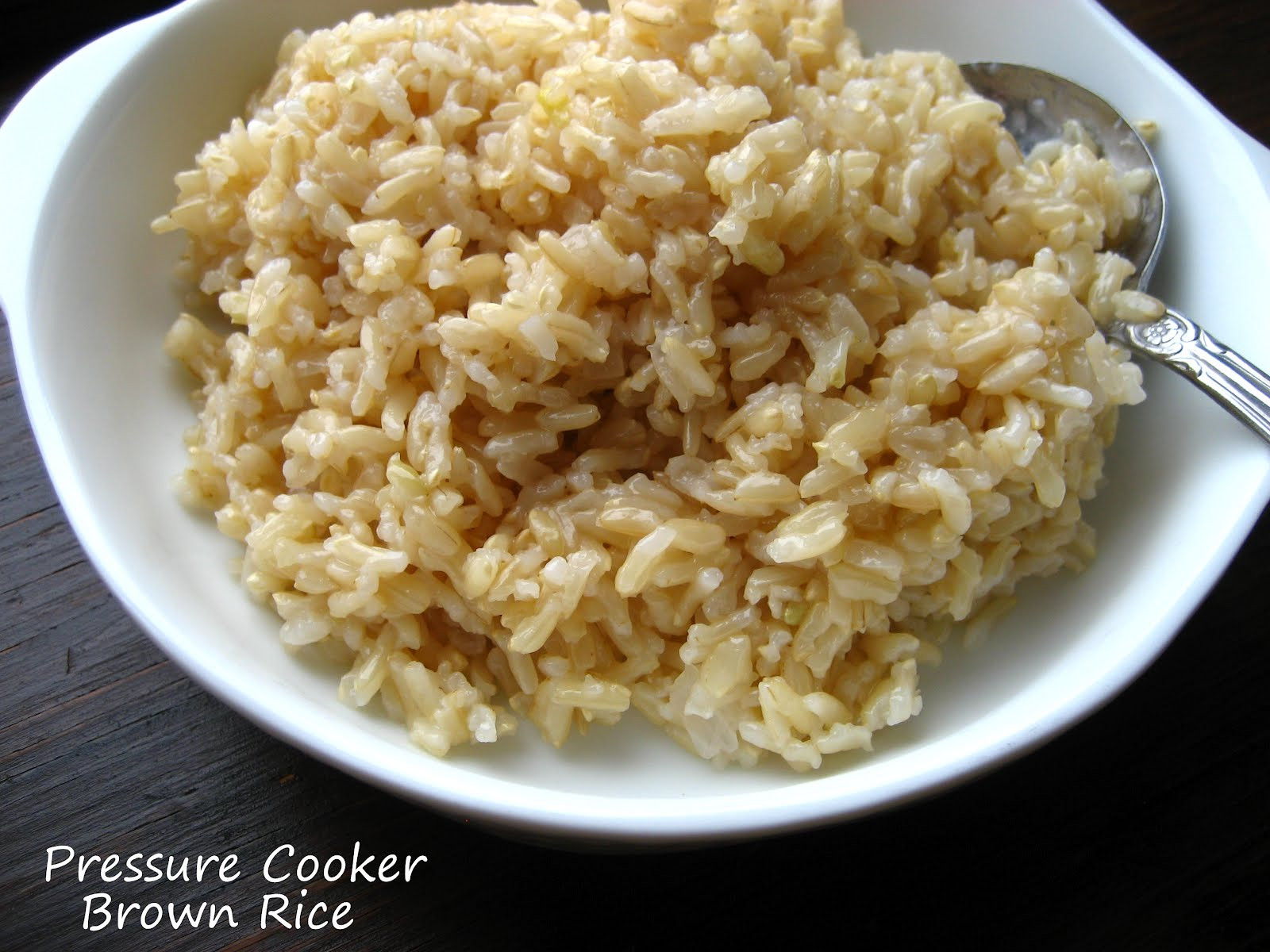 Rice Cooker Brown Rice  Home Cooking In Montana Pressure Cooker Brown Rice