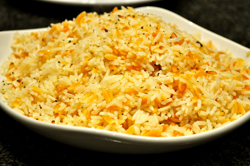 Rice Pilaf With Orzo  e Classy Dish Orzo Rice Pilaf