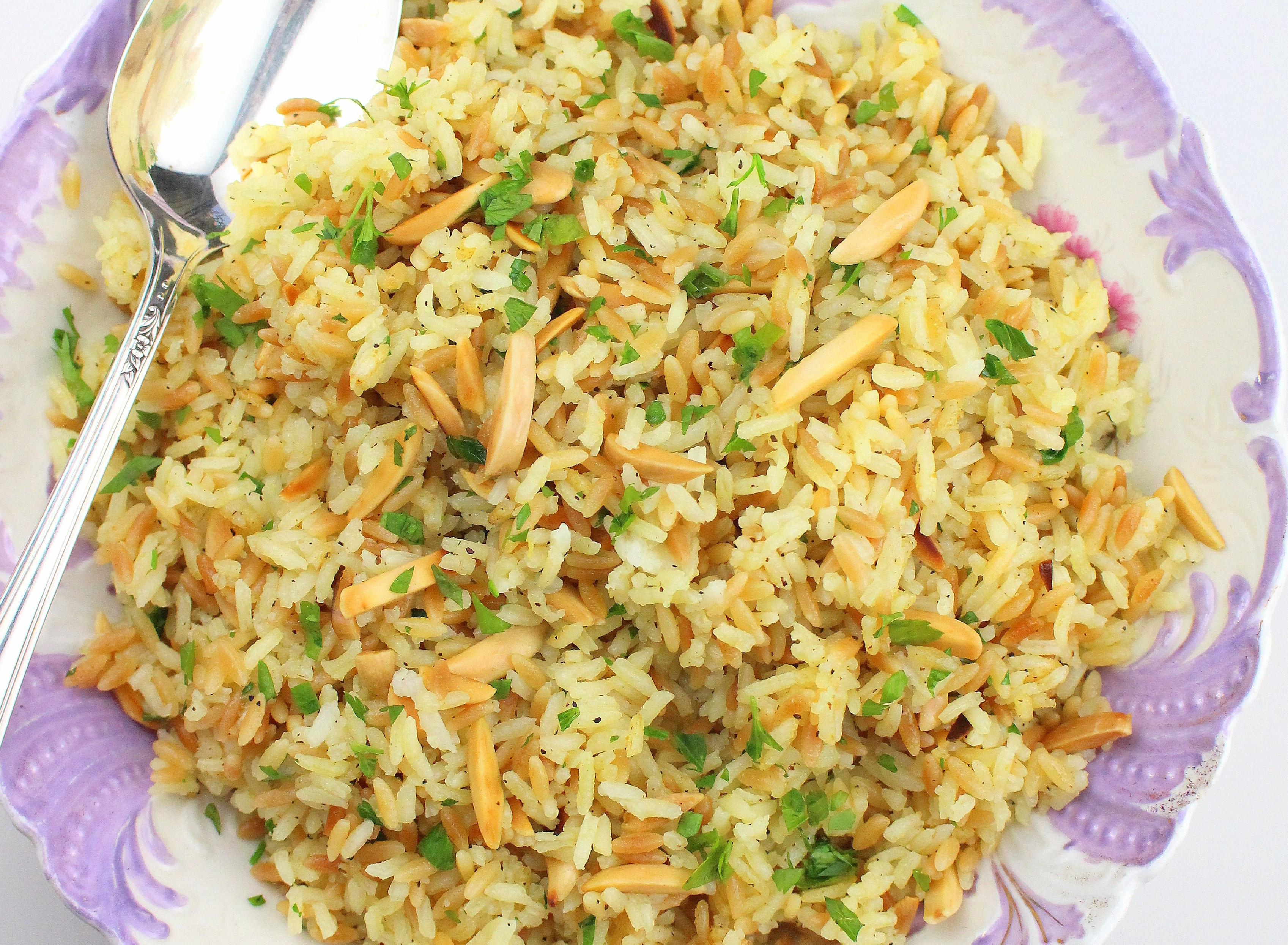 Rice Pilaf With Orzo  rice pilaf with orzo