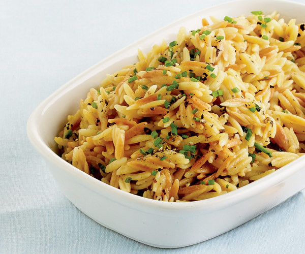 Rice Pilaf With Orzo  Orzo with Brown Butter and Parmesan Recipe FineCooking