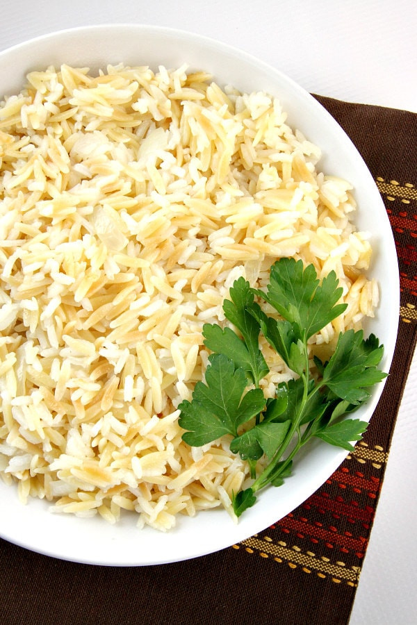 Rice Pilaf With Orzo  Classic Rice Pilaf Recipe Recipe Girl