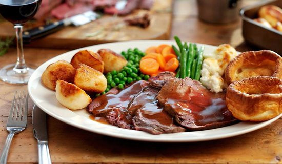 Roast Beef Dinner  Standard Roast beef dinner in the advert Picture of The
