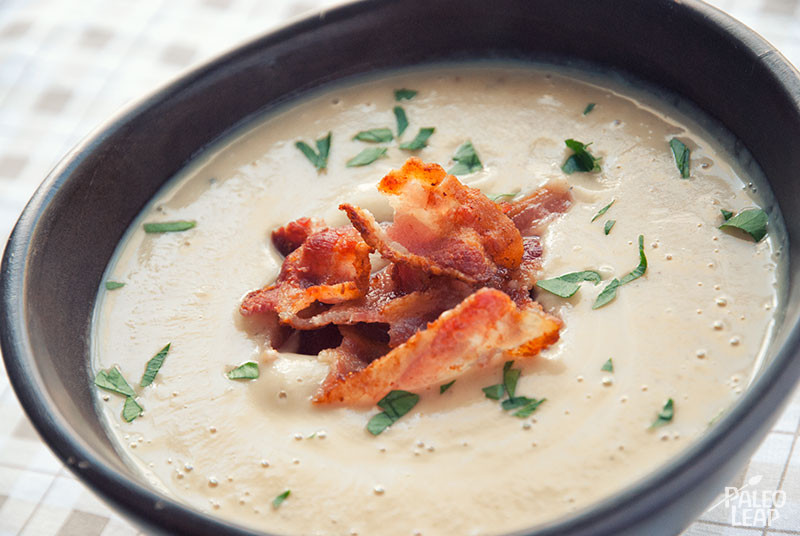 Roasted Cauliflower Soup  Roasted Cauliflower Soup