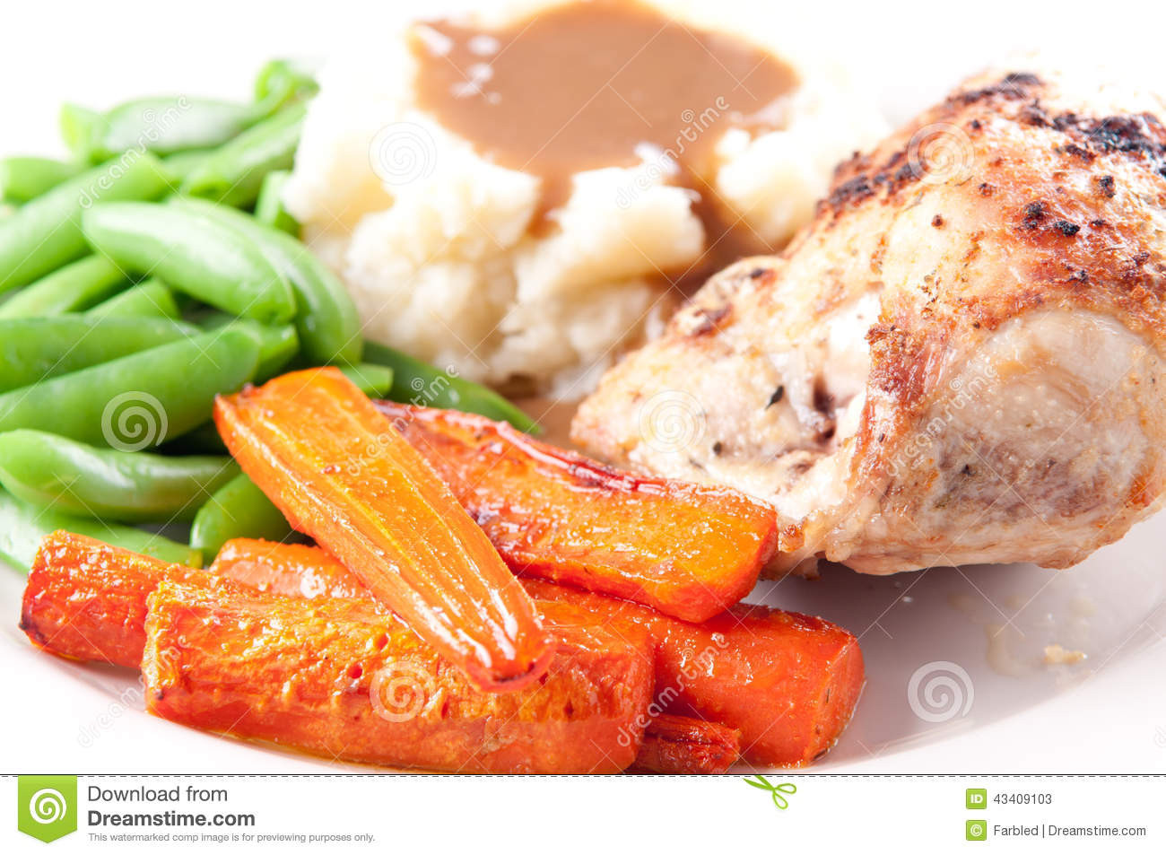 Roasted Chicken Breast And Vegetables  Roasted Chicken Breast Mashed Potatoes Gravy And Fresh