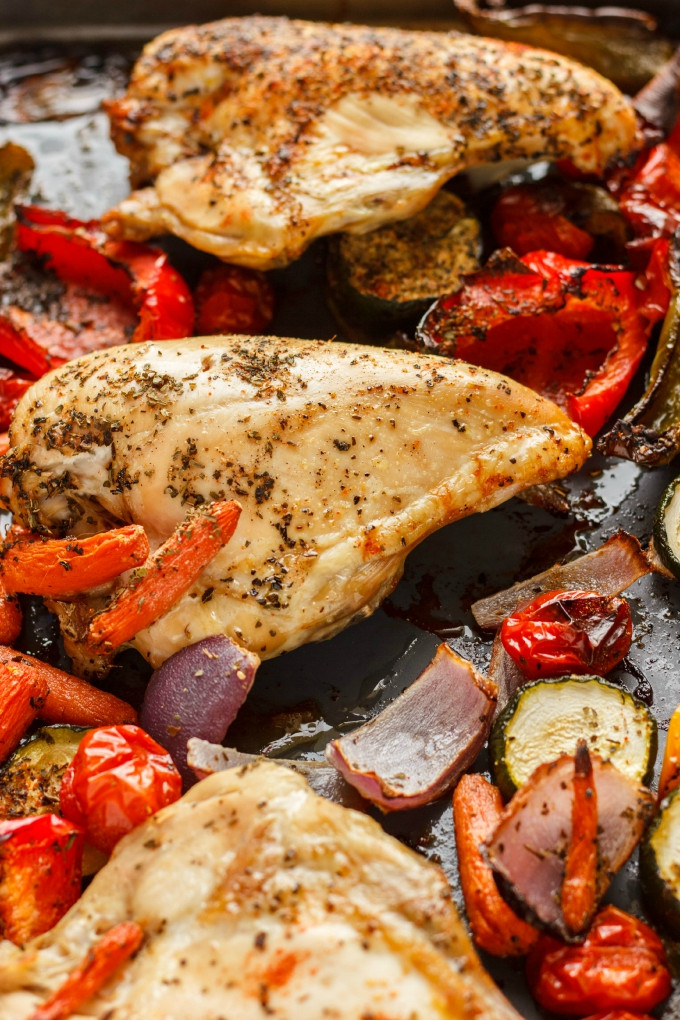 Roasted Chicken Breast And Vegetables  Honey Garlic Chicken Drumsticks Recipe The Cookie Writer