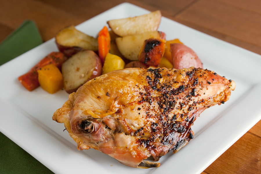 Roasted Chicken Breast And Vegetables  Roasted Chicken with Veggies