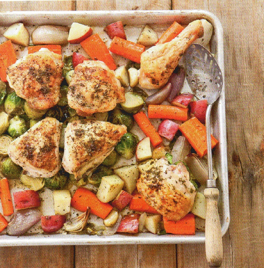 Roasted Chicken Breast And Vegetables  Be ing Betty Pan roasted Chicken with Root Veggies