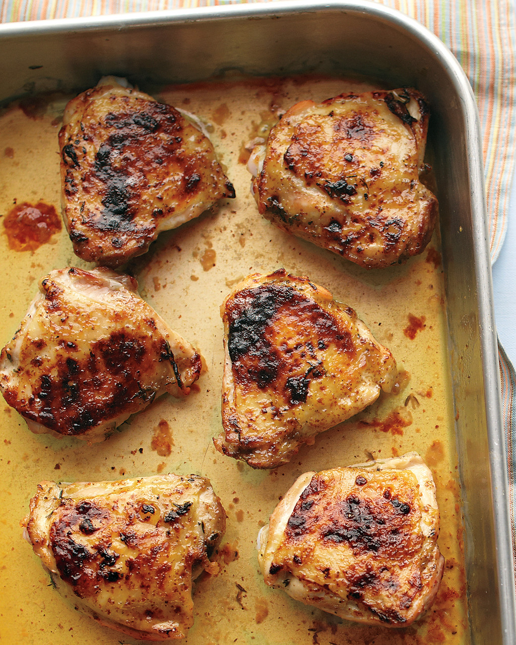 Roasted Chicken Thighs Recipe  Easy Roasted Chicken Thighs Recipe & Video
